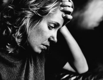 Mulher deprimida