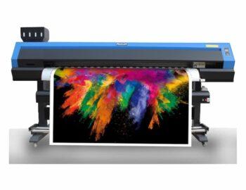 Impressora destacando a estampa